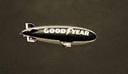 Good Prints - Good Year Blimp Print by Patrick M Lynch