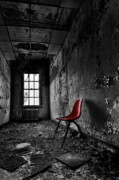 Chair Photo Metal Prints - Goodbye Inocence Metal Print by Evelina Kremsdorf