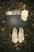 Vintage Shoe Framed Prints - Goodbye Framed Print by Joana Kruse
