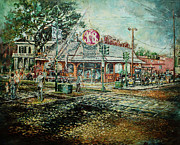 New Orleans Drug Stores Paintings - Goodbye K n B by Charles Simms