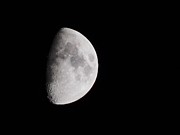 Man In The Moon Photo Metal Prints - Goodbye Neil Armstrong Metal Print by Clarice  Lakota