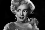 Monroe Framed Prints - Goodbye Norma Jean Framed Print by Julie L Hoddinott
