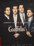 Art Ross Drawings - Goodfellas by Sandeep Kumar Sahota