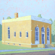 Wysocki Prints - Goodman Bank Print by Stephen Wysocki