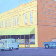 Wysocki Prints - Goodman Retail Store Print by Stephen Wysocki