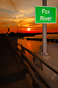 Fox River Posters - Goodnight Fox River Poster by Shutter Happens Photography