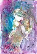 Goodnight Kiss Print by Deborah Nell