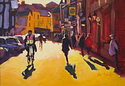 Long Street Paintings - Goodramgate Sunburst by Neil McBride