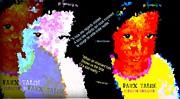 Google The Word - Talibe Print by Fania Simon