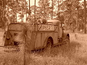 Kerr Originals - Gopher Engine Company Sepia by Warren Thompson