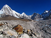 Awe Prints - Gorak Shep-everest Base Camp Trek-nepal Print by Copyright Michael Mellinger