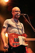 Singer Photo Originals - Gord Downie with Telecaster by David McDonald