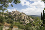 Hilltown Photos - Gordes in Provence by Stan and Anne Foster