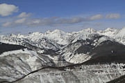 Gore Range Photos - Gore Range, Dillon, Colorado, In Winter by John Kieffer