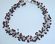 Red Jewelry - Gorgeous Garnets by Linda Bishop