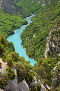 Azur Framed Prints - Gorges du Verdon Framed Print by Brian Jannsen