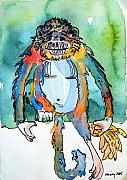 Ape Mixed Media - Gorilla of my Dreams by Mindy Newman