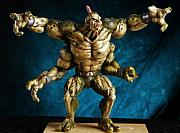 Model Mixed Media Originals - Goro Resin Model Kit by Craig Incardone