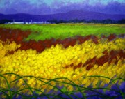 Colourful Prints Art - Gorse - County Wicklow - Ireland by John  Nolan