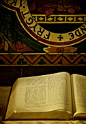 Bible Christianity Prints - Gospel Of Mark Print by Odd Jeppesen