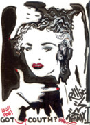 Madonna Mixed Media Posters - Got Couth Poster by Robert Wolverton Jr