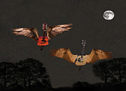Flying Guitars Digital Art - Got To Get You Into My Life by Eric Kempson