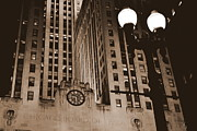 Chicago Board Of Trade Prints - Gotham - Urban Photography - Chicago Print by James Simmons