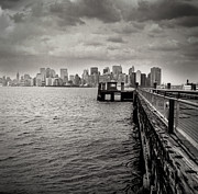 Nyc Photo Prints - Gotham City Print by Ken Marsh