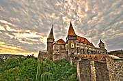 Knight Photo Posters - Gothic Castle Poster by Mircea Costina Photography