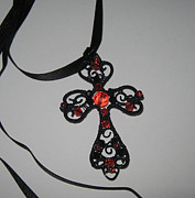 Gothic Jewelry - Gothic Cross by Dacian Moon