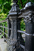Central Park Photos - Gothic Design by Paul Ward
