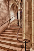 Stair Case Posters - Gothic Flair Poster by Janet Fikar