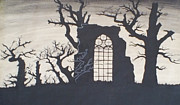 Gothic Landscape Print by Silvie Kendall