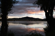 Storm Clouds; Sunset; Twilight; Water Metal Prints - Gothic Mountain Metal Print by Juan Romagosa