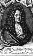 Rationalism Prints - Gottfried Wilhelm Leibniz, German Print by Photo Researchers, Inc.