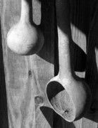 Ladles Framed Prints - Gourd Ladles Framed Print by Earl Cockerham