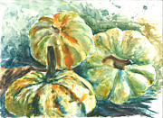 Gourds Paintings - Gourds by Terri Gordon