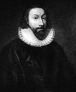 Winthrop Framed Prints - Governer John Winthrop Framed Print by Extrospection Art