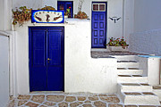 Patrick Framed Prints - GR0023 Patricks Mykonos Greece Framed Print by Steve Sturgill
