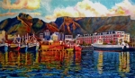  Harbor Paintings - Grace at the Table 2.0 by Dr Michael Durst