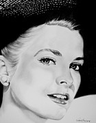 Grace Kelly Art - Grace by Christopher A Newman