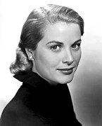 Kelly Framed Prints - Grace Kelly, 1951 Framed Print by Everett