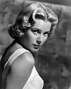 Kelly Framed Prints - Grace Kelly, 1953 Framed Print by Everett
