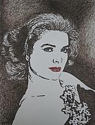 Princess Grace Prints - Grace Print by Lynet McDonald