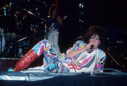 Grace Slick Of Jefferson Starship Print by Rich Fuscia