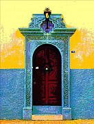Image Gypsies Prints - Graceful Door by Darian Day Print by Olden Mexico