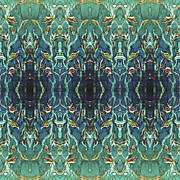 Repeat Patterns Digital Art Posters - Graceleavz  Poster by Sue Duda