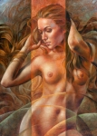 Nudes Canvas Posters - Gracia1 Poster by Arthur Braginsky