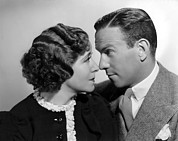Gracie Framed Prints - Gracie Allen, George Burns, 1936 Framed Print by Everett