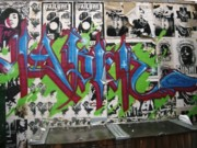 Abstract Realist Landscape Art - Graffiti Art by Signs of the tims collection